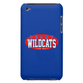 Berry High School Wildcats iPod Case-Mate Case