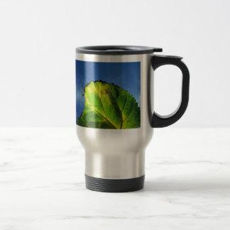 Berry leaf and Autumn colors. Coffee Mug
