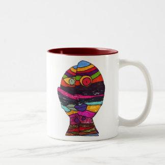Berry Leon-Max M Two-Tone Coffee Mug