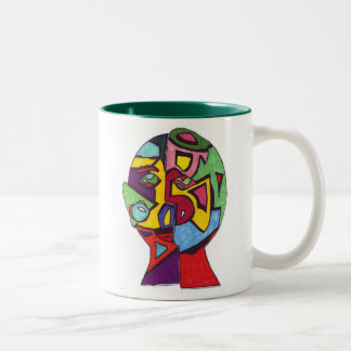 Berry Leon-Rachel R Two-Tone Coffee Mug
