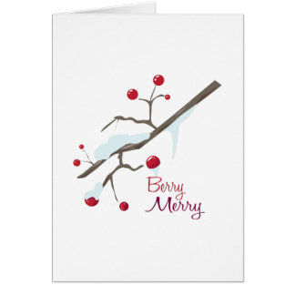 Berry Merry Card