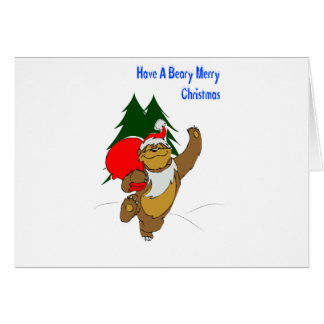Berry Merry Christmas Greeting Card