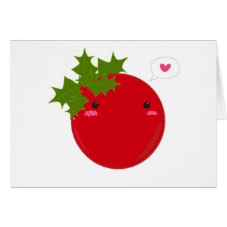 Berry Merry Greeting Card