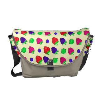 Berry mix commuter bag