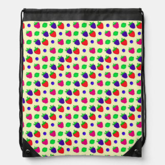 Berry mix drawstring bag