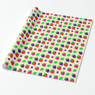Berry mix wrapping paper