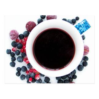 Berry morning postcard