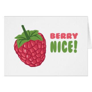 Berry Nice! Greeting Card