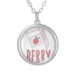 Berry Nutritious Silver Plated Necklace