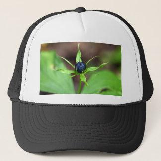 Berry of an herb paris (Paris quadrifolia) Trucker Hat