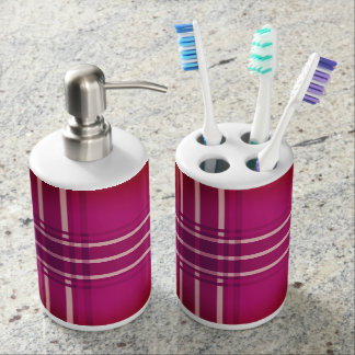 Berry Pretty Bathroom Set