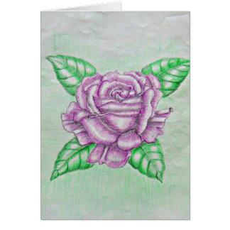 Berry Rose Greeting Card