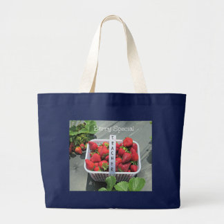 Berry Special Teacher Large Tote Bag