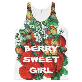 Berry sweet girl All-Over print singlet