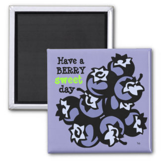 Berry Sweet Square Magnet