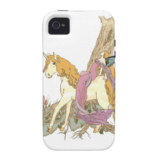 Berry The Unicorn iPhone 4/4S Covers