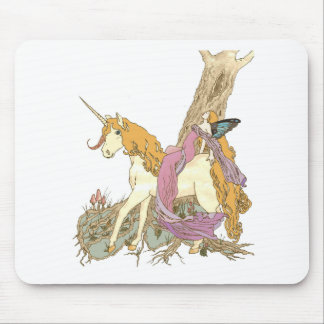 Berry The Unicorn Mouse Pad