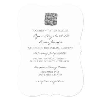 Berry Wedding Invitation