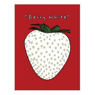 Berry White Postcard
