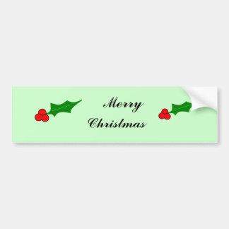 Berrys, Berrys, Merry, Christmas Bumper Sticker