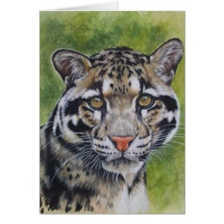 Berry's Clouded Leopard Greeting Card