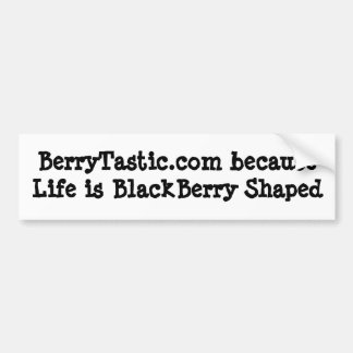 BerryTastic.com1 Car Bumper Sticker