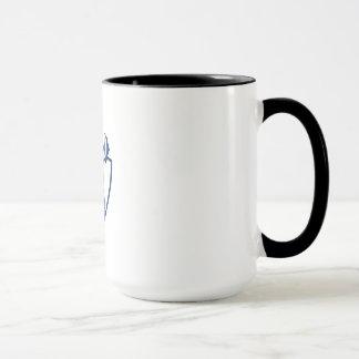 Berserker Lifting Barbell Kettlebell Crest Retro Mug