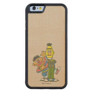 Bert and Ernie Classic Style Carved Maple iPhone 6 Bumper Case