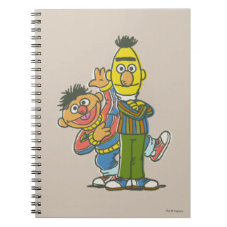 Bert and Ernie Classic Style Notebook