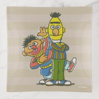 Bert and Ernie Classic Style Trinket Trays