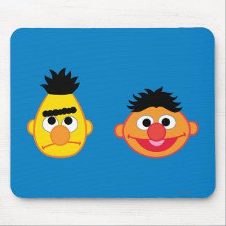 Bert & Ernie Emojis Mouse Pad
