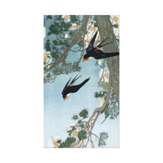Bertha Lum Land of the Bluebird Canvas Print
