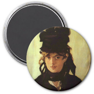 Berthe Morisot 7.5 Cm Round Magnet