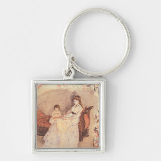 Berthe Morisot - Edma the sister of the artist wit Keychain