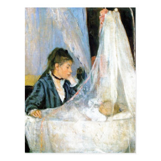 Berthe Morisot Le berceau The Cradle 1872 Techniqu Postcard
