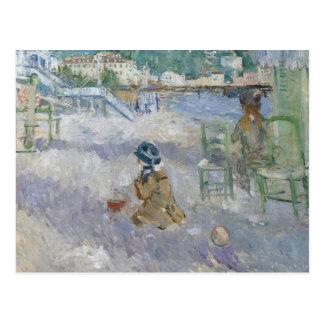 Berthe Morisot - Nice Beach Postcard