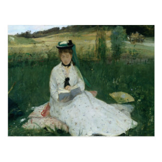 Berthe Morisot - Reading Postcard