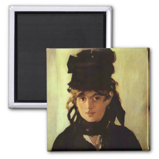 Berthe Morisot Square Magnet