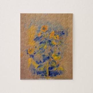 Berthe Morisot - Sunflowers - ArtPuzzles Jigsaw Puzzle