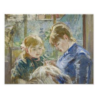 Berthe Morisot - The Artist's Daughter, Julie Art Photo