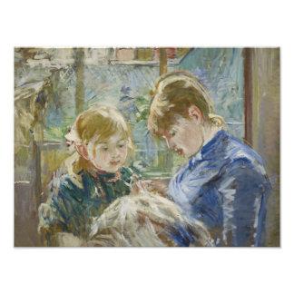 Berthe Morisot - The Artist's Daughter, Julie Photo Art