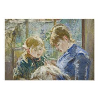 Berthe Morisot - The Artist's Daughter, Julie Photograph