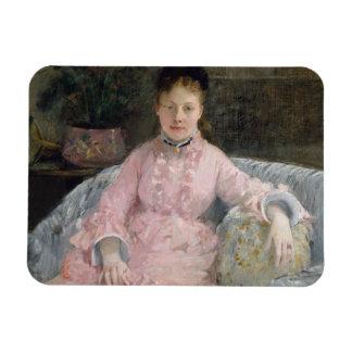 Berthe Morisot - The Pink Dress Magnet