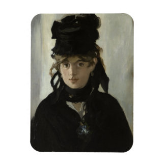 Berthe Morisot with a Bouquet of Violets by Manet Magnet