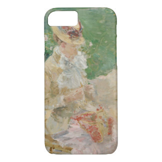 Berthe Morisot - Young Woman Knitting iPhone 8/7 Case