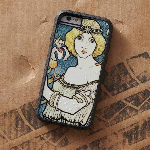 Berthon Salon Des Cent Floral Art Nouveau Vintage Tough Xtreme iPhone 6 Case