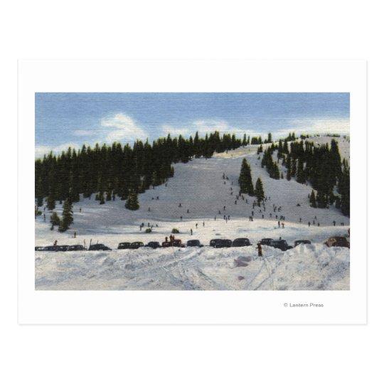 Berthoud Pass, Colorado Postcard