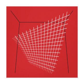 Bertoia Homage Midcentury Design Print Canvas Prints