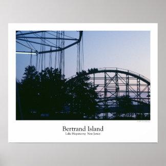 Bertrand Island Amusement Park Poster
