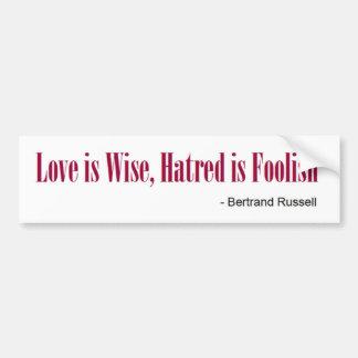Bertrand Russell Bumper Sticker